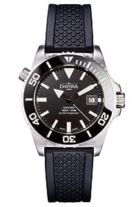 Davosa Herren-Armbanduhr Argonautic Automatic Analog automatik kautschuk schwarz 16149825