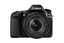 Canon EOS 80D 24.2MP Digital SLR Camera (Black) with EF-S 18-135mm f/3.5-5.6 Image Stabilization USM Kit