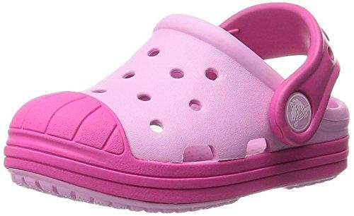 crocs Bump It Clog (Toddler/Little Kid/Big Kid), Carnation/Candy Pink, 8 M US Toddler
