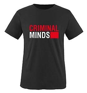 Comedy Shirts - CRIMINAL MINDS - Men T-Shirt - size S-XXL various colours