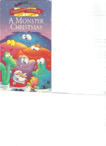 Amazon.com: A Monster Christmas [VHS]: Monster Christmas