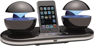 Speakal iCrystal Stereo Docking Station with Two Speakers for iPod by Speakal