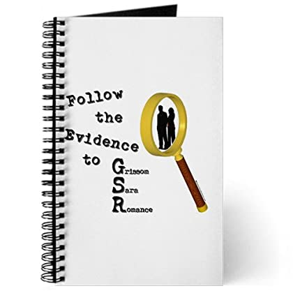 CafePress Follow the Evidence Magnify Journal - Standard Blank coupon codes 2015