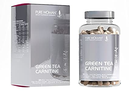 Pure Woman® Green Tea Carnitine 90 Kapseln