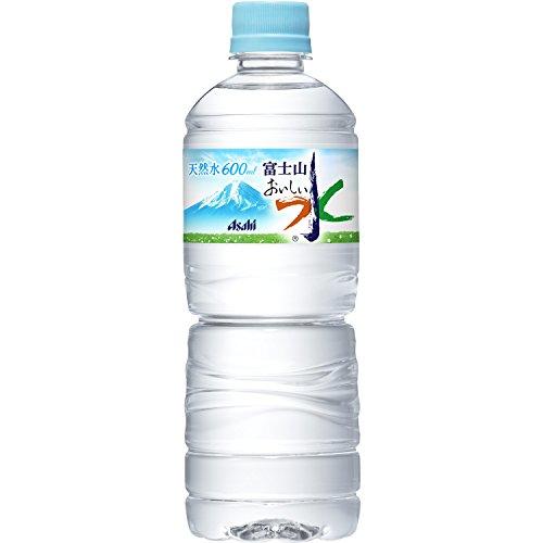 アサヒ飲料 おいしい水 富士山 600ml×24本