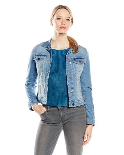 Sansibar Giacca Denim Girls Jeans Jacke [Blu]
