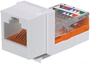 Panduit NK5E88MWHY Category-5E 8-Wire Lead-Frame Style Jack Module White 4-Pair