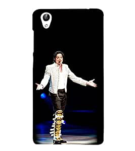 Vizagbeats Michale Jackson Back Case Cover for Oppo A37