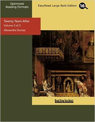 Twenty Years After, Vol. 3