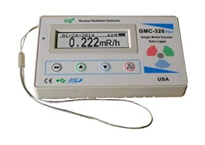 GQ GMC-320-Plus Geiger Counter Nulcear Radiation Detector Meter Beta Gamma X ray test equipment
