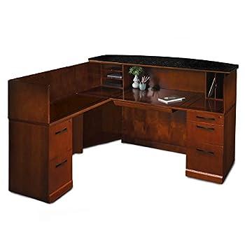 Office Reception Desk - Preside Reception Desk L-Shaped