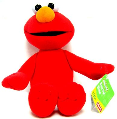 Buy Low Price Fisher Price Sesame Street Collectible 12 Inch Plush Figure Elmo (B000H4H37C)