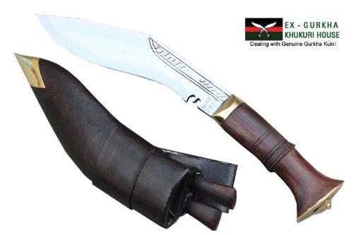 "6"" Blade Super Mini Jungle Kukri - Authentic Gurkha Khukuri - Handmade Knife By Ex Gurkha Khukuri House in Nepal"