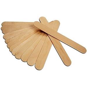 b tonnet de m lange en bois spatule en bois jetable lot de 24 jardin. Black Bedroom Furniture Sets. Home Design Ideas