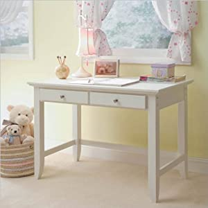 Home Styles 5530-16 Naples Student Desk White Finish from Home Styles
