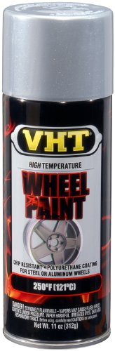 VHT SP186 Chevy Rally Silver Wheel Paint Can - 11 oz.