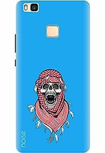 Noise Designer Printed Case / Cover for Huawei P9 lite / Patterns & Ethnic / Afghani Skull Design