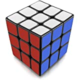 Newisland 3x3 Pros Speed Cube New Anti-POP Structure Torpedoes Better Corner Cutting Eco-Friendly Plastics Puzzle Cube Phoenix (Black)