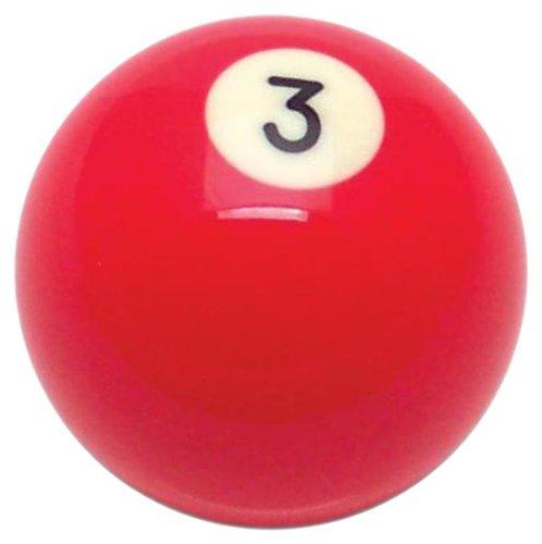 American Shifter 96048 Solid Red 3 Ball Billiard Pool Shift Knob at Sears.com