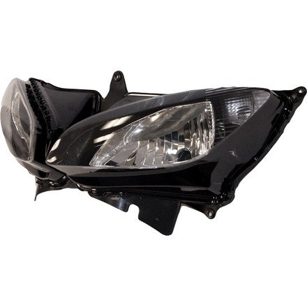 -Black 2007 Mazda 5 Post mount spotlight LED 6 inch Driver side WITH install kit