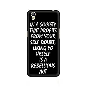 Mobicture Live yourself Premium Printed Case For Oppo A37