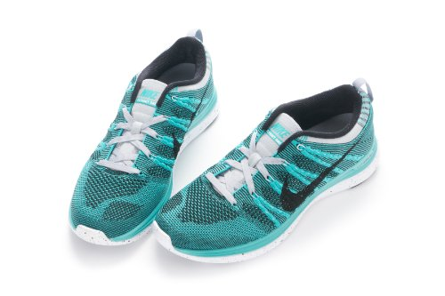 7f0343c4a1a0 The Features Nike Flyknit One Running Shoes 554887 301 Sport Turq Black  Black Wlf Gry US 10 -