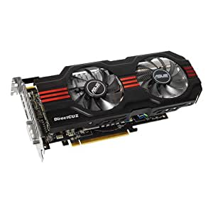 ASUS HD7850-DC2-2GD5 Radeon 2GB DDR5 VGA/DVI/HDMI/DisplayPort GPU Tweak Utilities PCI-Express 3.0 Graphics Card HD7850-DC2-2GD5