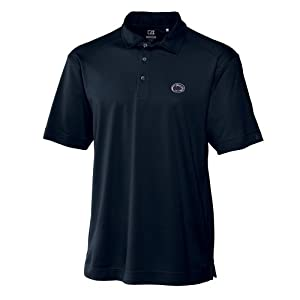 NCAA Mens Penn State Nittany Lions Navy Blue Drytec Genre Polo Tee by Cutter & Buck