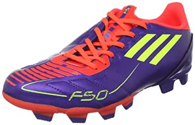 adidas Men's F5 Trx Fg Soccer Cleat,Anodized Purple/Electricity/Infrared,7 D US
