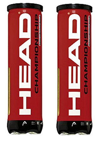 Head Championship 2 x 4er Dose Bi Pack Tennisbälle Trainingsbälle Tennis