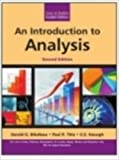 img - for An Introduction to Analysis - International Economy Edition book / textbook / text book