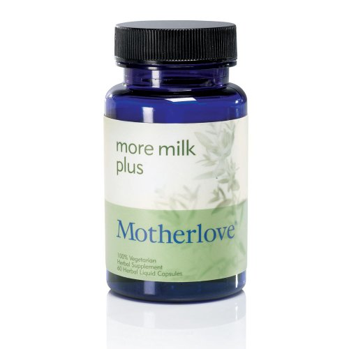 Motherlove More Milk Plus Vegetarian Capsules, 60 Caps