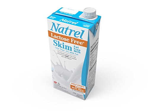 Natrel Skim Milk Lactose Free, 32 Ounce (Pack of 6) (Fat Free Milk compare prices)