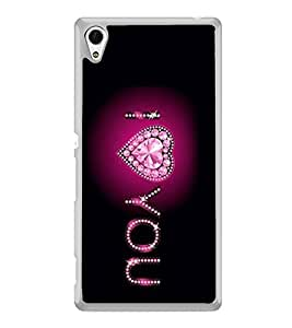 I Love You 2D Hard Polycarbonate Designer Back Case Cover for Sony Xperia Z4