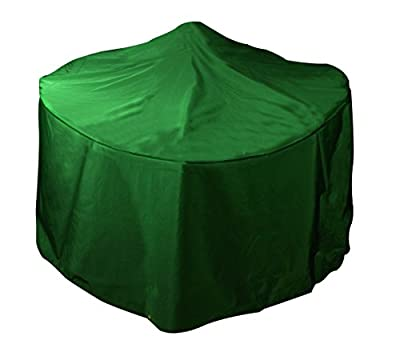 Bosmere Small Round Fire Pit Cover - Green by Bosmere Products