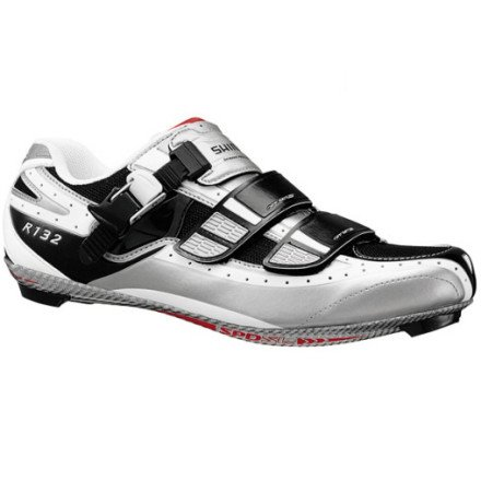 Shimano SH-R132L Cycling Shoe - Men's Black, 37.0