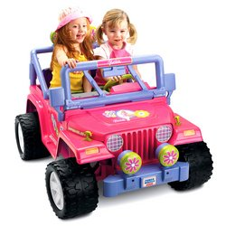 Fisher-Price Power Wheels Barbie Jammin' Jeep