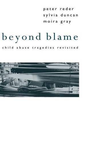 beyond blame What can we learn from inquiries into cases of fatal child abuse beyond blame offers a new way of looking at such cases and shows that it is possible to draw important lessons from them the authors, all three experienced in child protection work, summarise thirty-five major inquiries since 1973, setting them in their social context and.