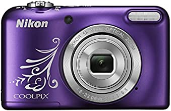 Nikon Coolpix L31 Digitalkamera (16 Megapixel, 5-fach opt. Zoom, 6,7 cm (2,6 Zoll) Display, HD-Video) violett lineart