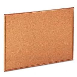 UNV43604 - Universal Cork Board with Oak Style Frame