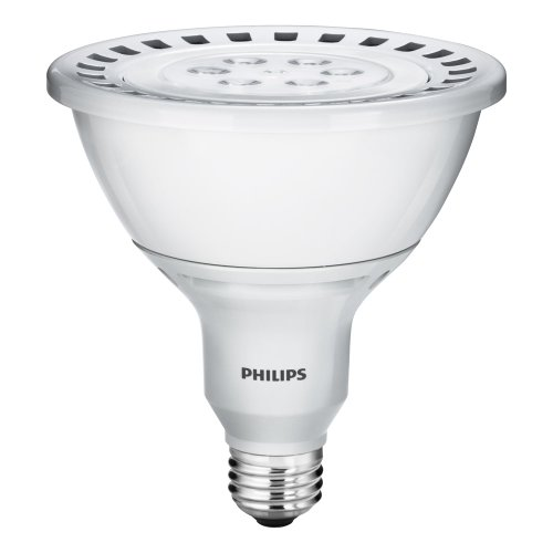Philips 420513 18-Watt (90-Watt) Par38 Led Indoor Flood Light Bulb, Dimmable