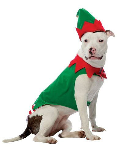 Christmas Costume accessories - Pet Christmas Costume Elf Xl