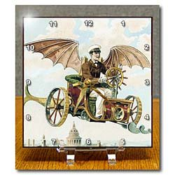 Flying Machine Clock