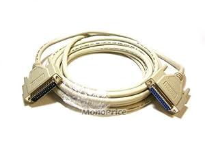 Monoprice 10-Feet IEEE 1284 DB25 M/F (100385)