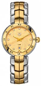 Women Watch Tag Heuer WAT1451BB0955 Link Link Two Tone Stainless Steel Case and