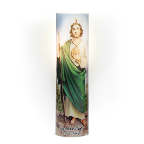 The Saints Collection St. Jude LED Prayer Candle
