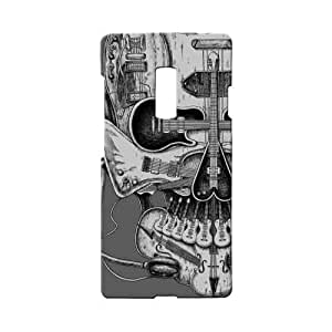 BLUEDIO Designer 3D Printed Back case cover for Oneplus 2 / Oneplus Two - G3269