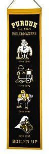 Buy NCAA Purdue Boilermakers Heritage Banner by Winning Streak