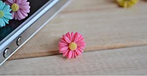 KARP Sunflower Little Daisy Dustproof Anti Dust Plug 3.5mm Universal Earphones Jack Plugs For Cell Phone