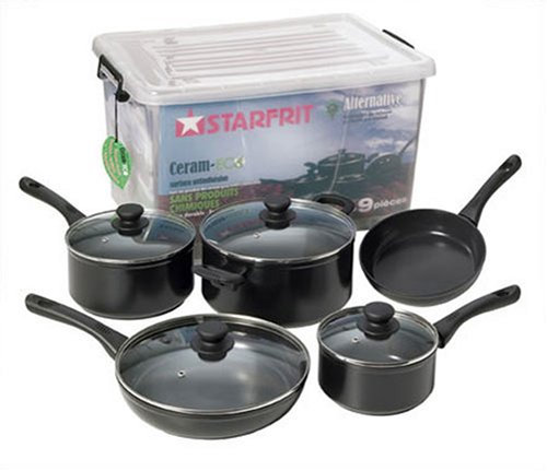 Starfrit Alternative Eco Pan 9-Piece Cookware Set